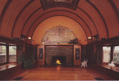 Frank Lloyd Wright Playroom Hearth