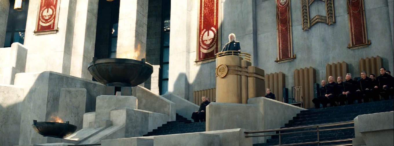 fascism in hunger games Catching fire: depicts oppression but avoids solution 2012 at 2:01pm second part of the hunger games book their criticism of fascism does resonate with.